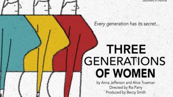 Introducing Three Generations of Women, by James Haddrell
