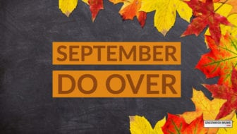 Start A September Do Over